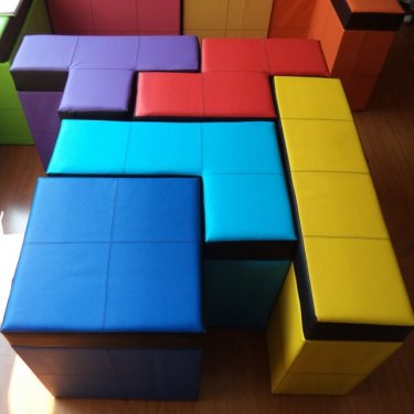 Tetris benches